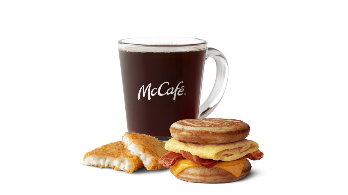 Bacon Egg Cheese McGriddle Meal in McDonald's