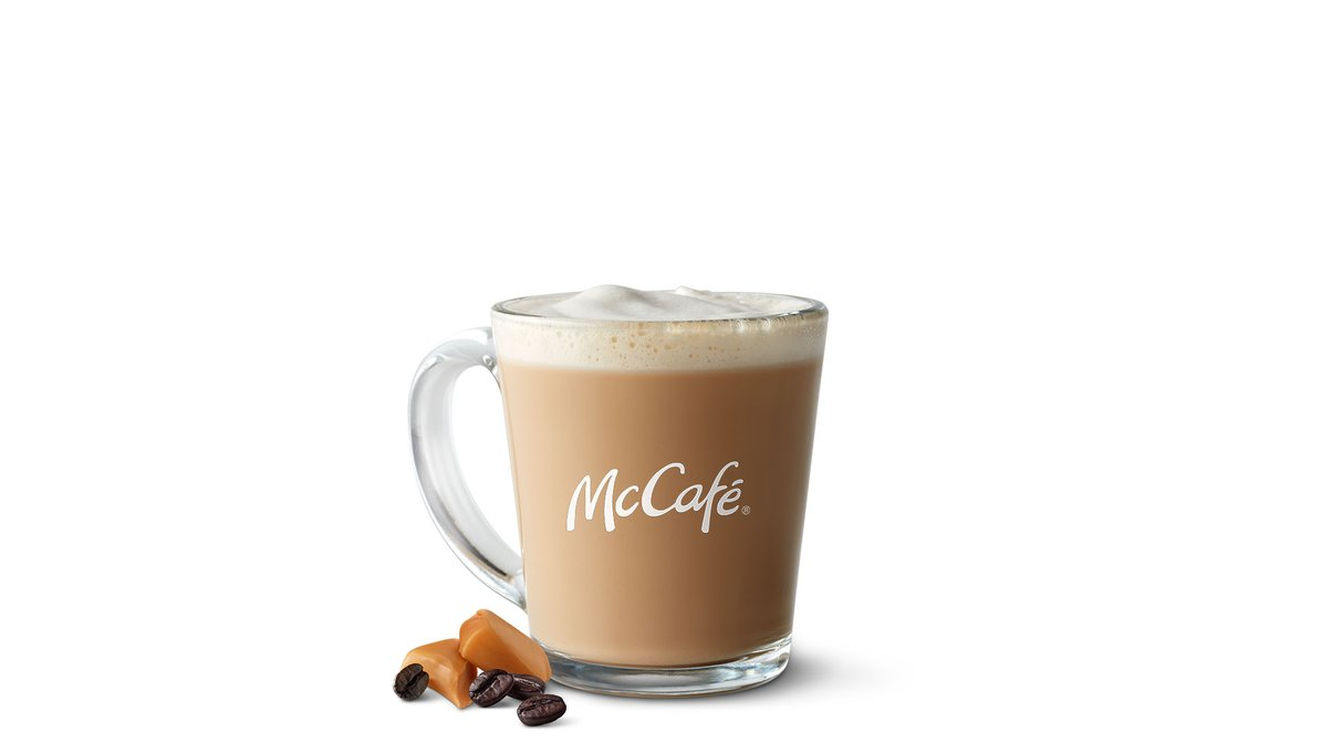 Caramel Latte in McDonald's