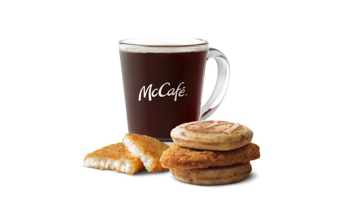 Chicken McGriddle Meal in McDonald's