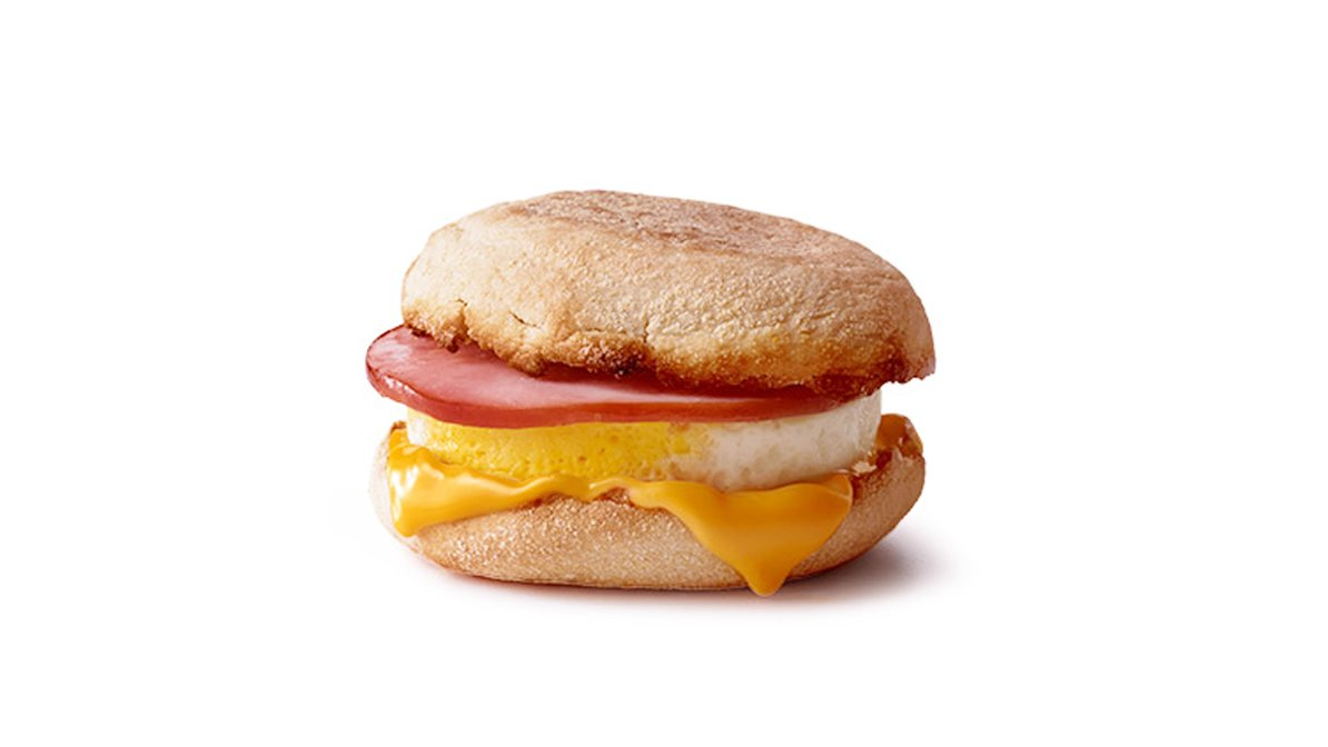 Egg McMuffin in McDonald's