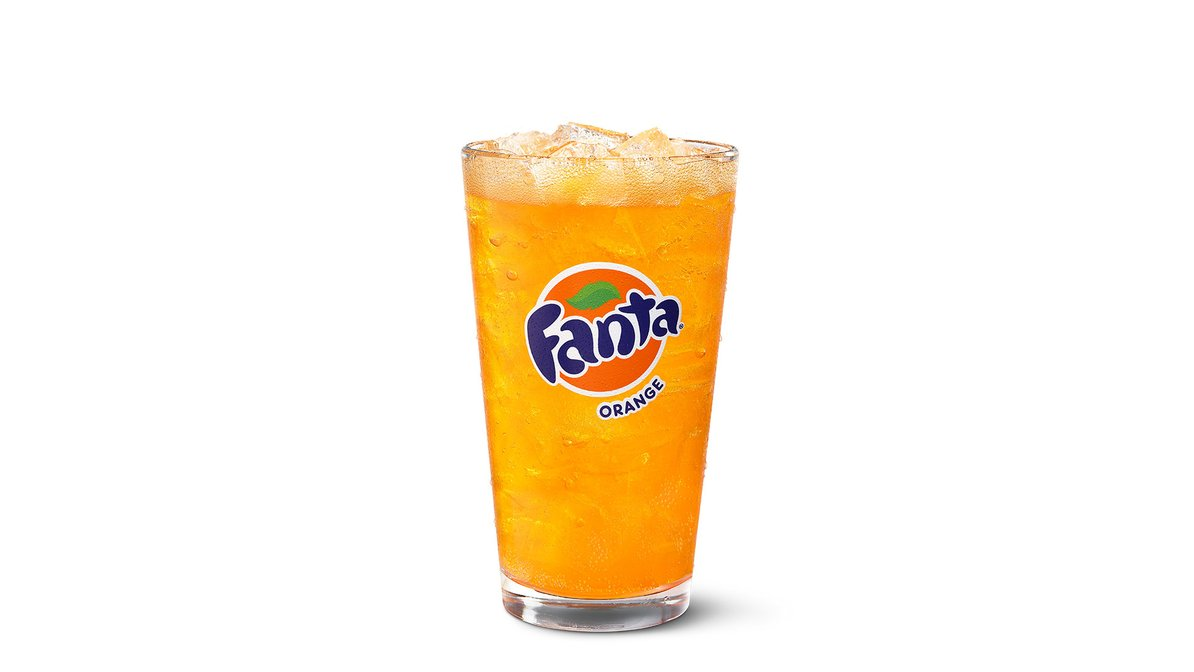 Fanta Orange in McDonald's