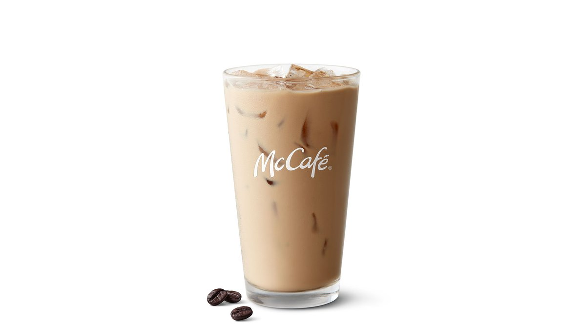 Iced Latte in McDonald's