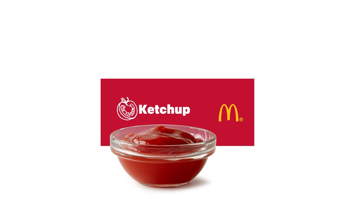 Ketchup Packet in McDonald's