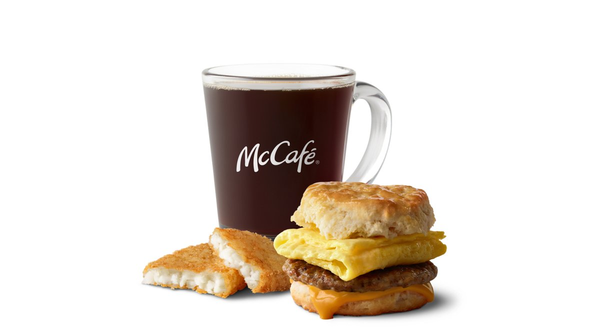 Sausage Egg Cheese Biscuit Meal in McDonald's